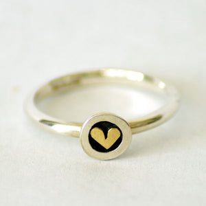 Linda McDonald Meadow Heart Ring