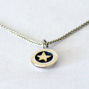 Linda McDonald Twilight Gold Star Pendant
