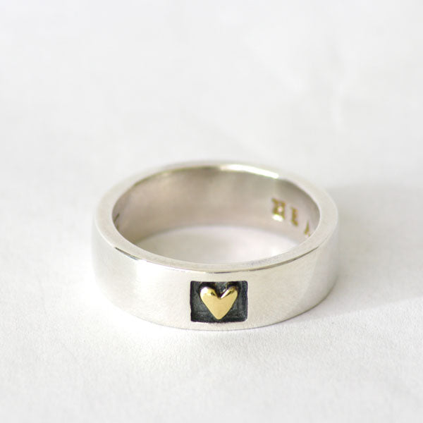 Alan Ardiff Heart of Gold Ring