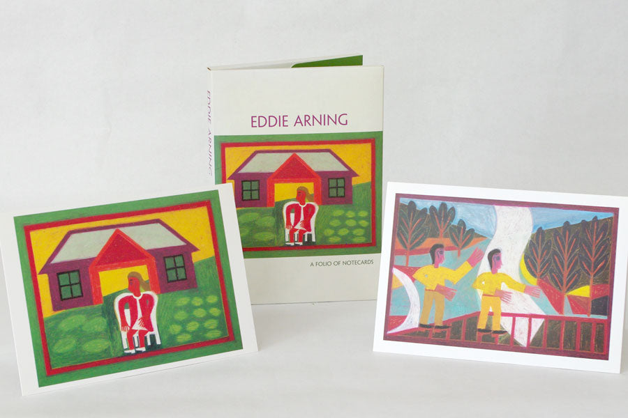 Eddie Arning Note Cards