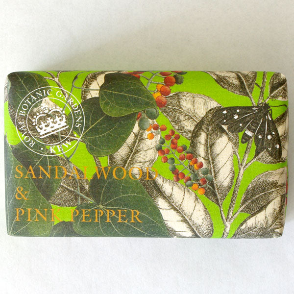 Sandalwood & Pink Pepper Shea Butter Soap