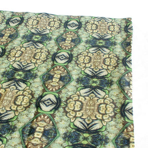 Green Linen Insect Tablecloth