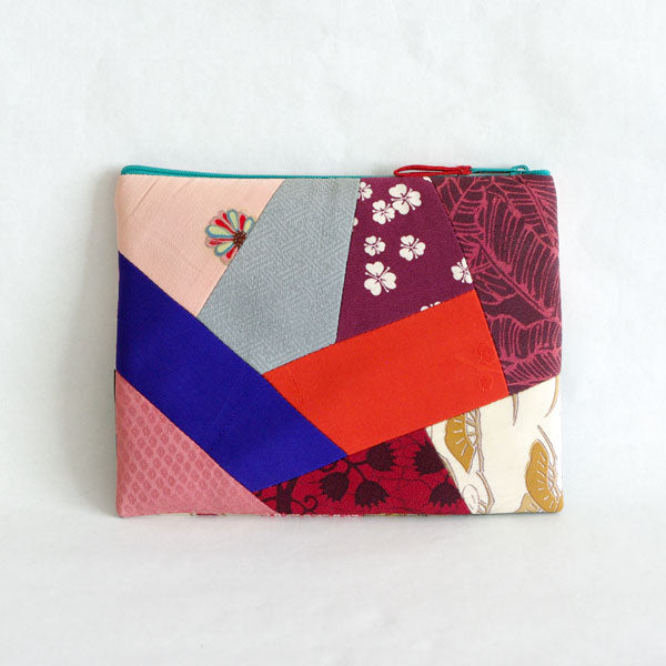 MAKE UP BAG JAPANESE KIMONO