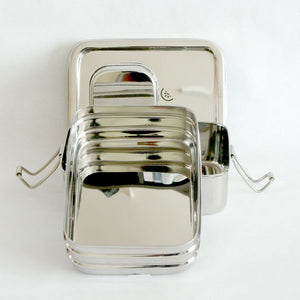 2 tier Lunch box with mini container