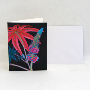 Kew Leaf & Flower Card