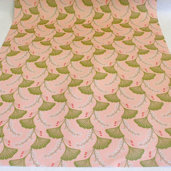 Wrap pink gingko
