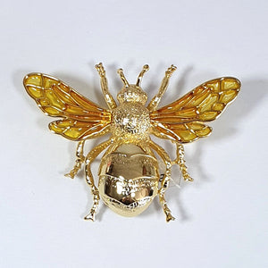 Bill Skinner Large Bee Brooch
