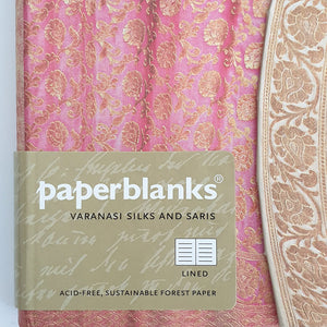 Medium Lined Notebook 'Silks & Saris'
