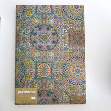Load image into Gallery viewer, Large Unlined 'Tibetan Textile' Notebook