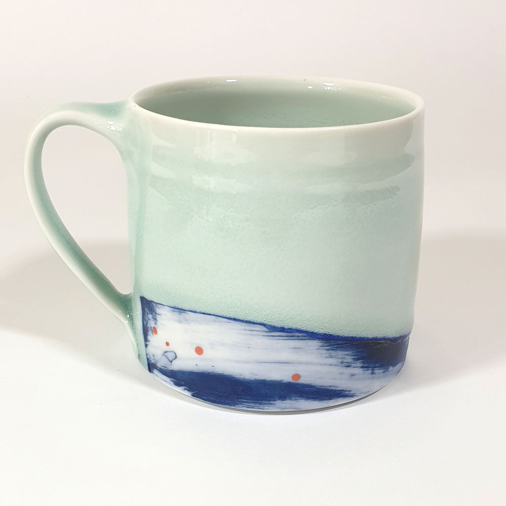 Adam Frew Blue Wash Mug 4