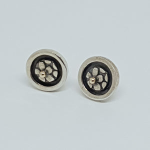 Linda McDonald Medium Flower Stud Earrings