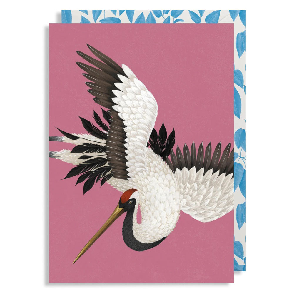 Any Occasion Card - Flying Crane, Anna Glover