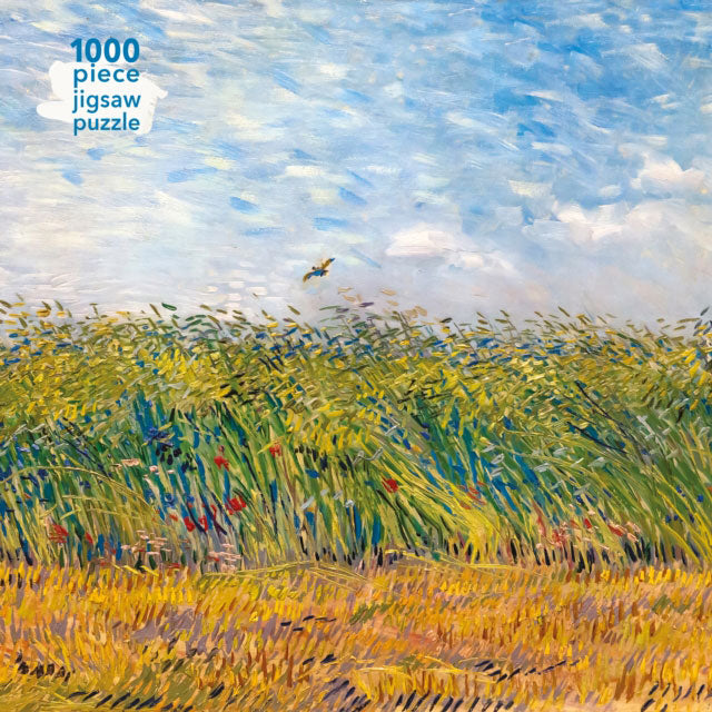 Jigsaw Puzzle Vincent Van Gogh: Wheat Field with a Lark : 1000-piece