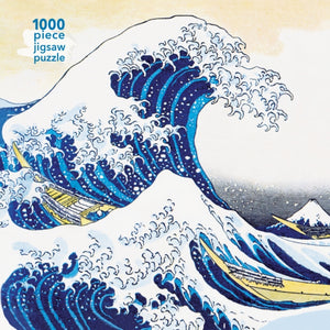 Hokusai: The Great Wave : 1000-piece Jigsaw Puzzle