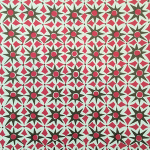 Patterned Paper 'Alhambra' Green & Pink
