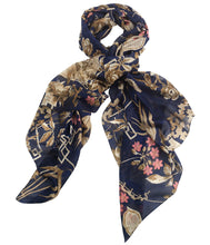 Load image into Gallery viewer, Bamboo Scarf Indigo