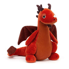 Load image into Gallery viewer, Jellycat Paprika Dragon
