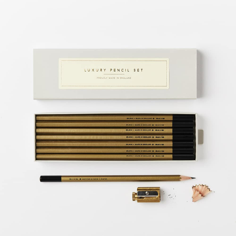 Gold Pencil Set - HB