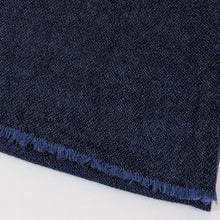 Load image into Gallery viewer, Pure Cashmere Scarf - Dark Blue