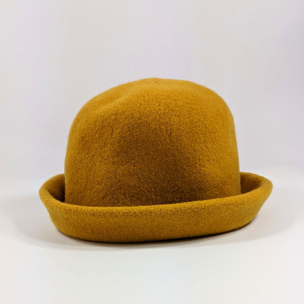 Gold Clochard Hat