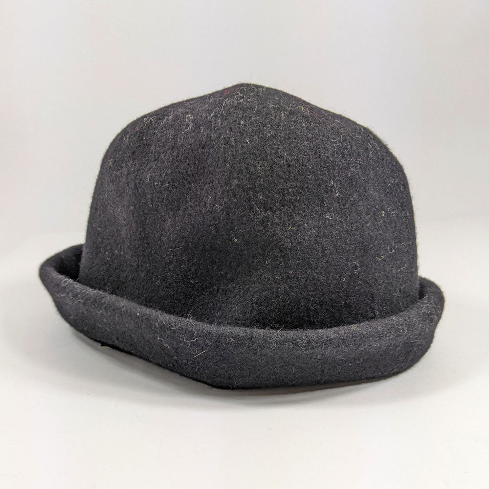 Grey Marl Clochard Hat