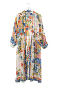 Dressing Gown Pagoda Duster Coat
