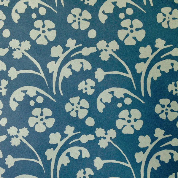 Patterned Paper Wild Flowers Blue
