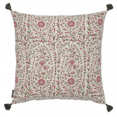 Kollam Blush Hand Blocked Cushion