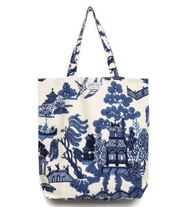 Giant Willow Blue Canvas Bag