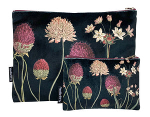 Velvet Bag & Purse set Allium