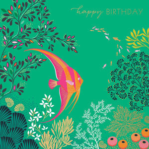 Birthday Card - Tropical Fish