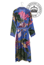 Load image into Gallery viewer, Kew Purple Magnolia Dressing Gown