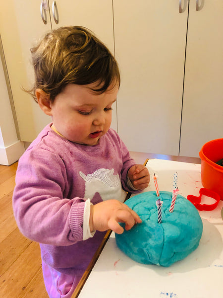 Little Helper FunPod loves Play-Dough