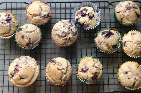 Dairy Free Muffins made in the funpod