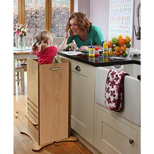 Little Helper FunPod Kitchen Stand - Maple