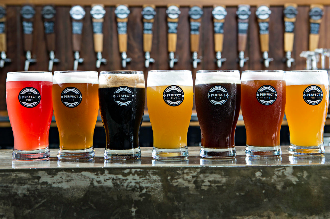 The Perfect Pint Beer Selection