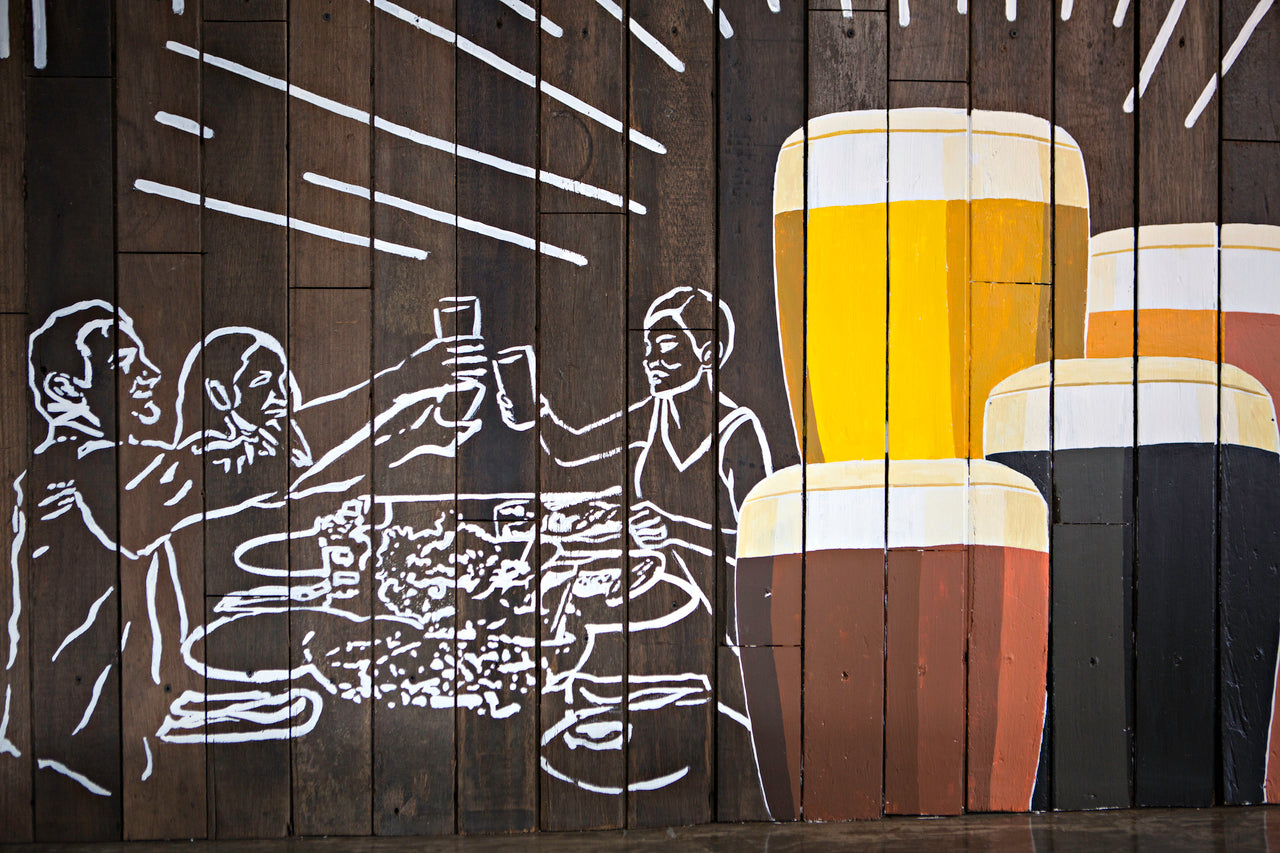 The Perfect Pint Celebration Mural