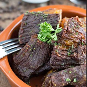 Crispy Ribs with Black Pepper Sauce