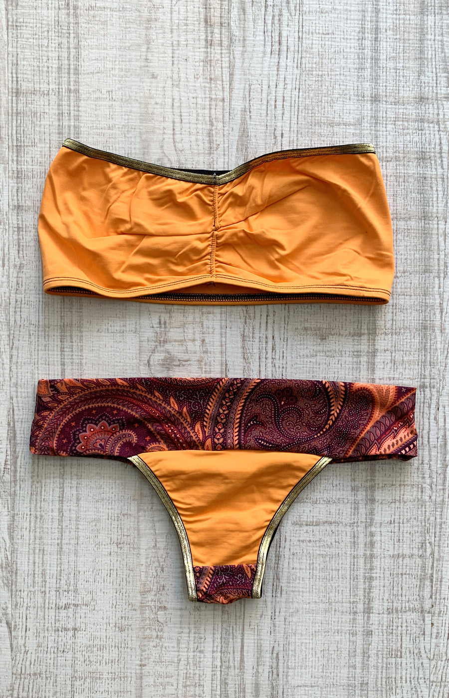Bikini Brazil Orange District