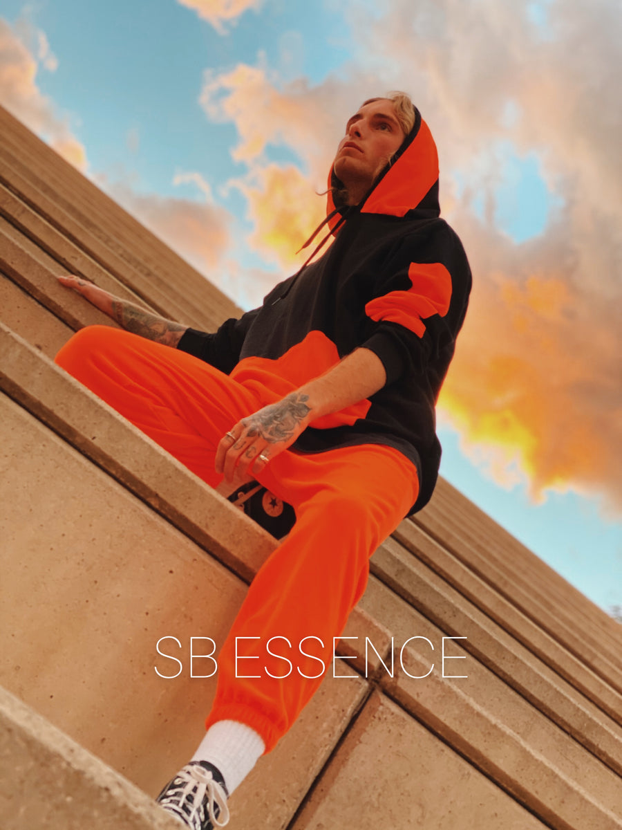 SB SUDADERA ORANGE DISTRICT MEN