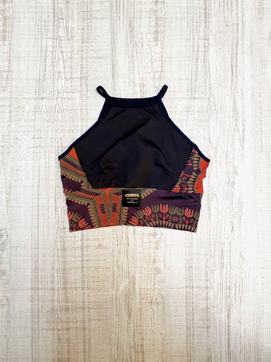 Top Etnik Black Abeba