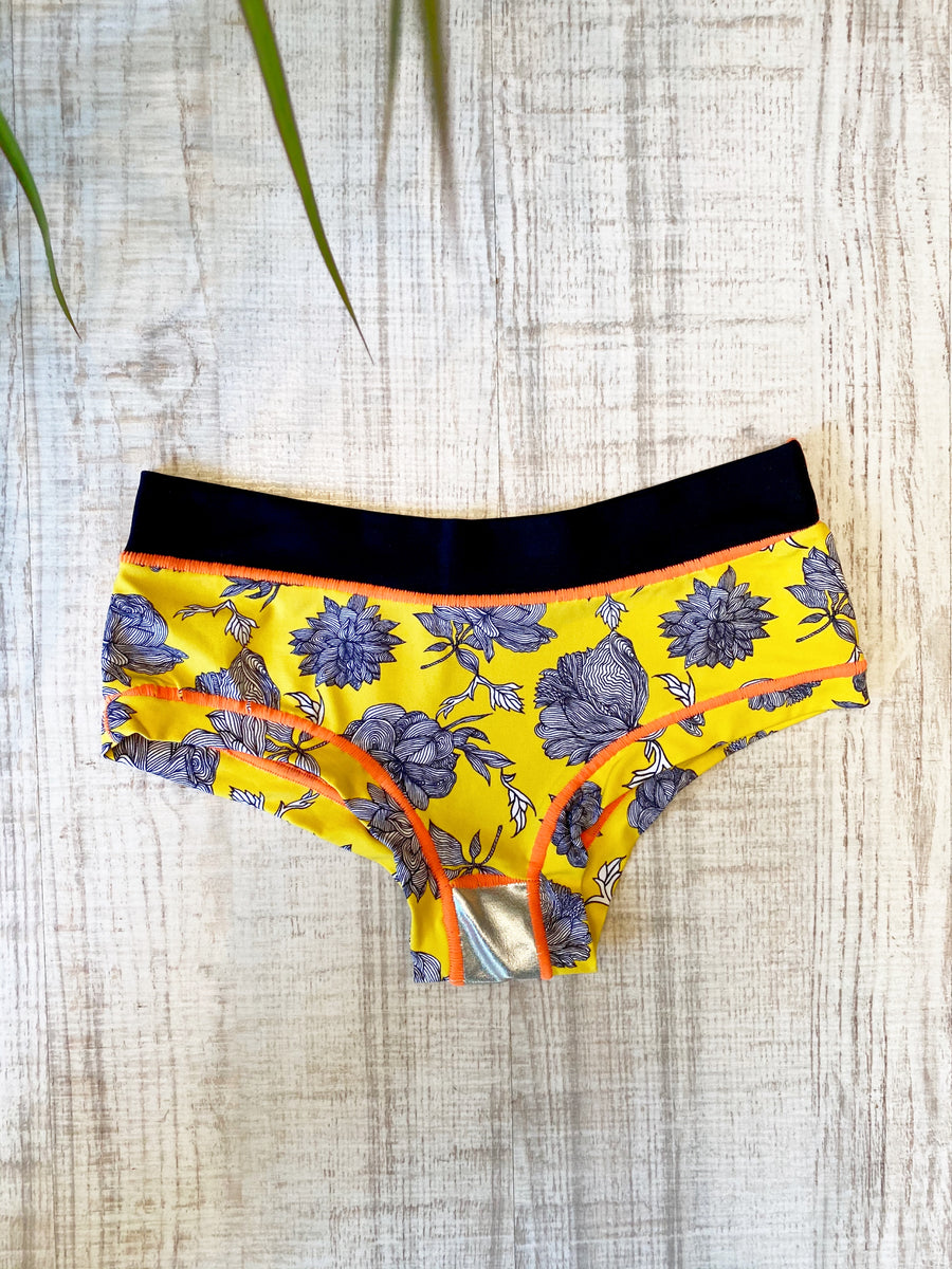 Culotte Yellow Roses