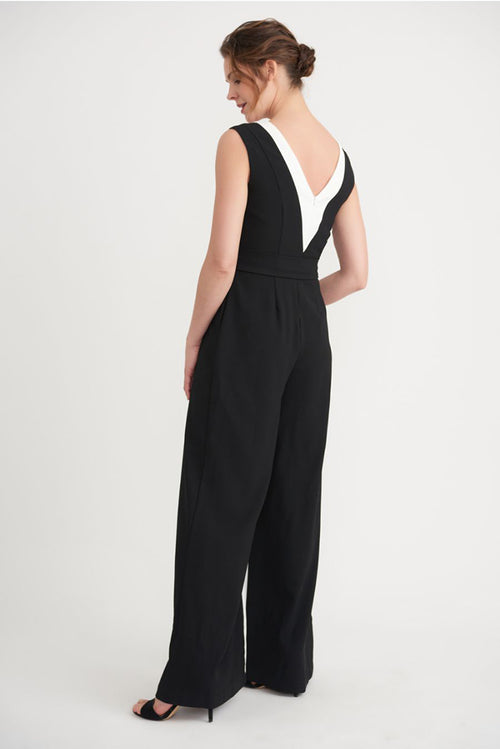 Black White Jumpsuit