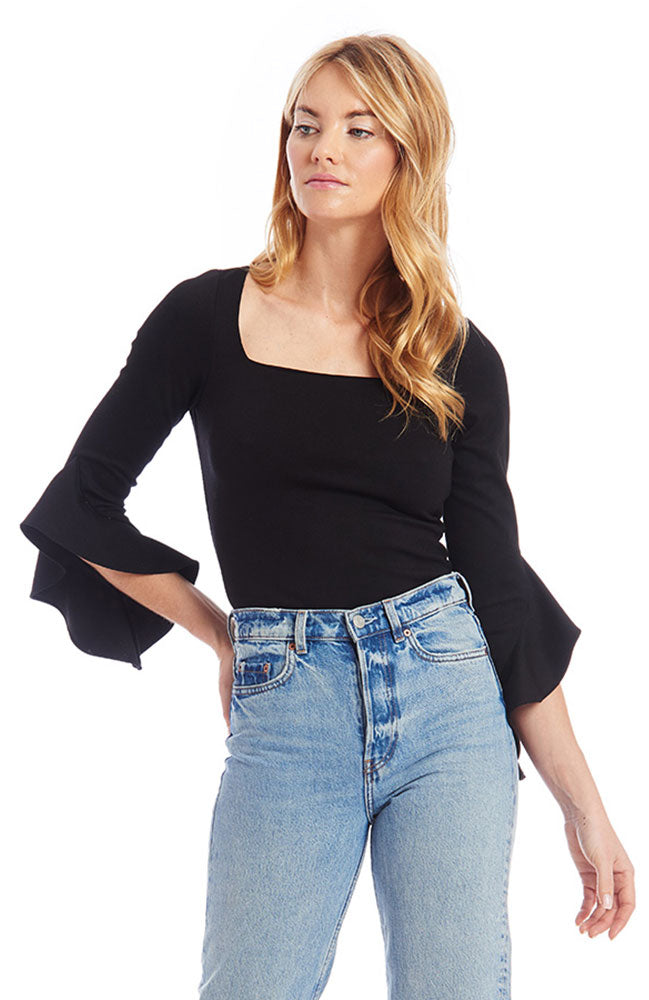 Frances Top in Black