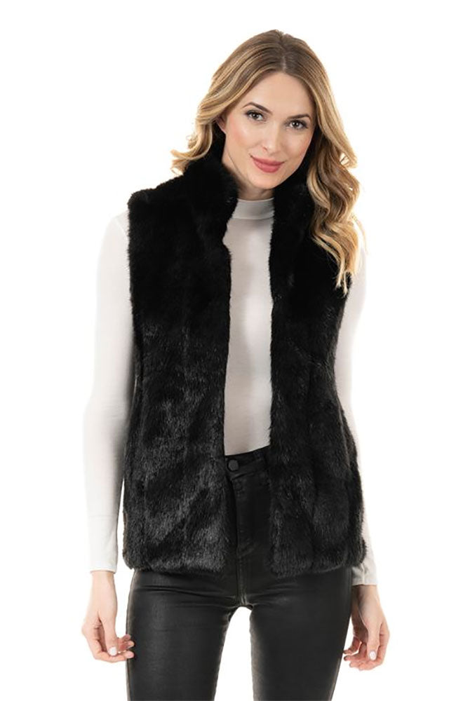 Hook Vest Black Mink