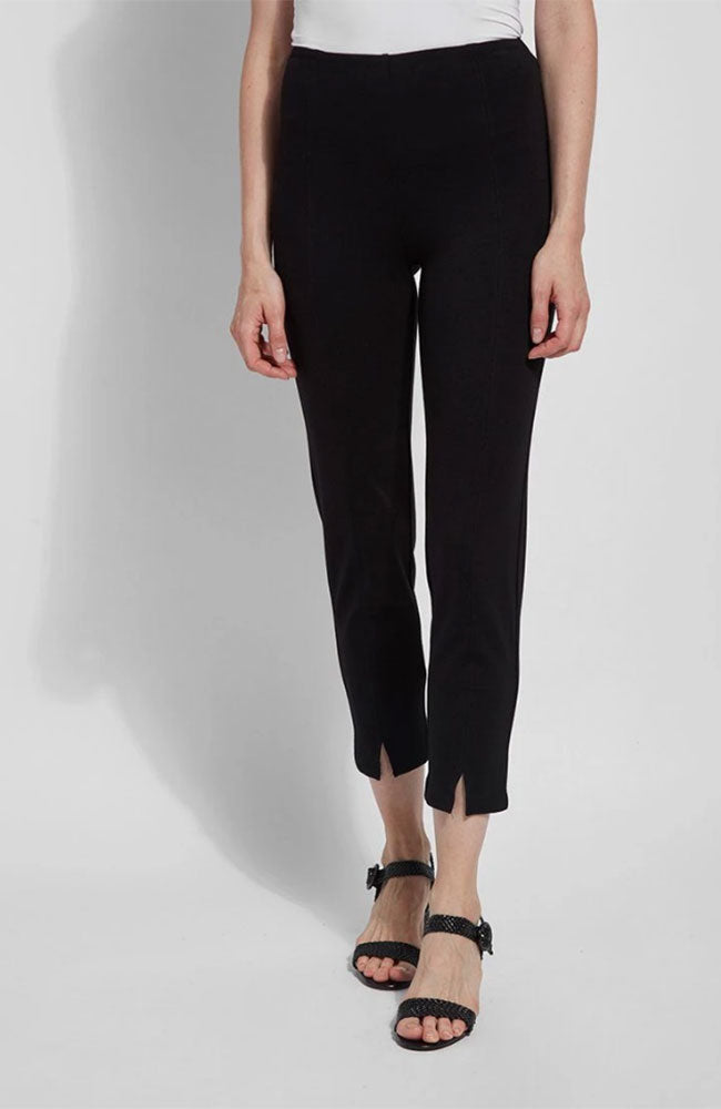 Wisteria Ankle Pant in Black