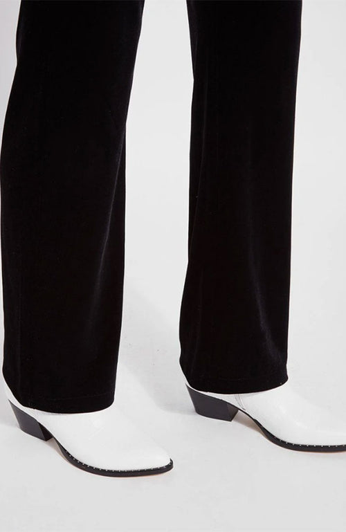Velvet Straight Legging