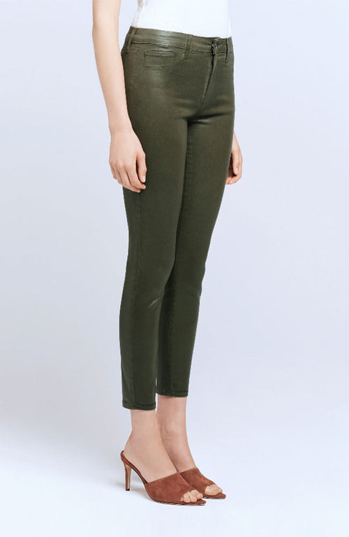 Margot H/R Skinny in Hunter Coated