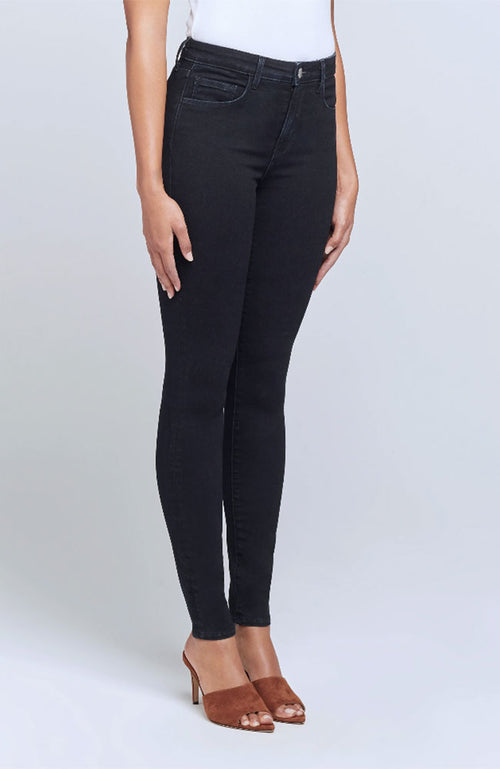 Marguerite High Rise Skinny in True Blue