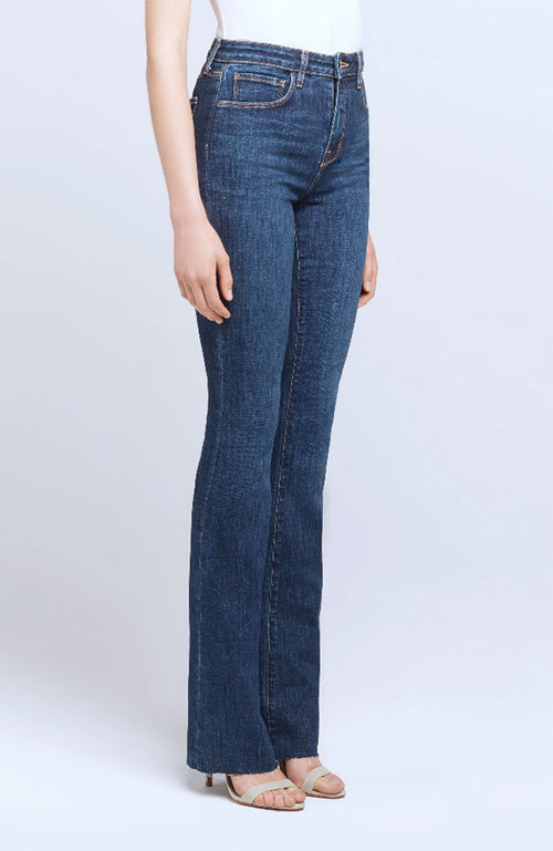 Ruth High Rise Straight Jean
